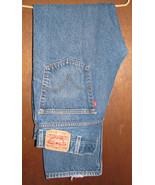 Men's Levis 505 Regular Fit Blue Jeans Size 38x32  - $15.99