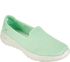 Skechers GO Walk Joy Slip-on Shoes - Radiant Light Green 5.5 M - $39.59