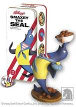 Kellogg's Advertising Figure statue Smaxey the Seal MIB - $33.63
