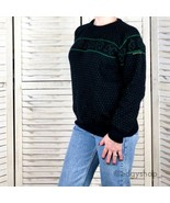 [Blarney Castle] Clover St Paddy's Wool Sweater - $45.00