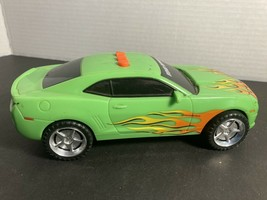 """Toy State Road Rippers Car Sounds Lights WORKS 5""""Long Green Flames Good ... - $10.00"""