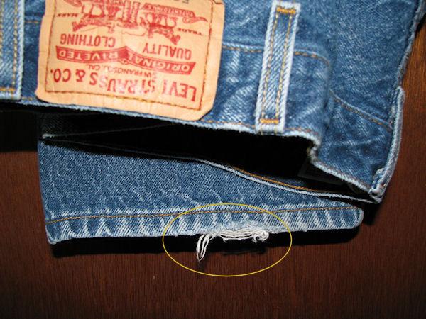 Men's Levis 505 Regular Fit Blue Jeans Size 38x32