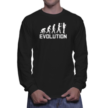 Violinist Evolution Funny Violin Music Long Sleeve Shirt - ₹1,796.92 INR