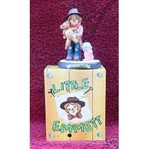 LITTLE EMMETT (KELLY) FREE SHIPPING CIRCUS BIRTHDAY FEBRUARY FIGURINE NEW - $19.92