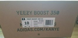 Neuf Adidas Yeezy 350 V2 Blanc Crème CP9366 Tout Neuf dans le Boite image 3