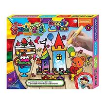 Donerland Glass Angel Happy Time Peelable Paint Sticker Pen with Base Sketch Mak