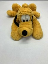"Disney Store Plush Genuine Original Large Pluto 22"" Stuffed Animal - $20.88"