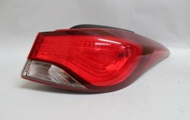 14 15 16 HYUNDAI ELANTRA SEDAN RIGHT PASSENGER SIDE TAIL LIGHT OEM - $79.19