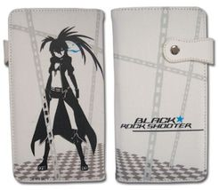 Black Rock Shooter: BRS white Wallet GE61518 NEW! - $19.99