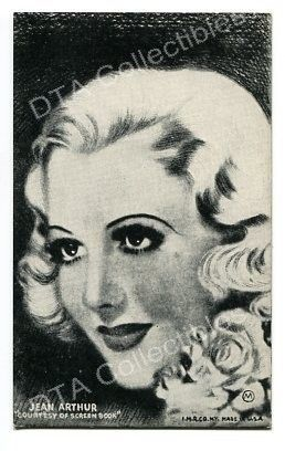 Primary image for JEAN ARTHUR-MUTOSCOPE ARCADE CARD-1940 G