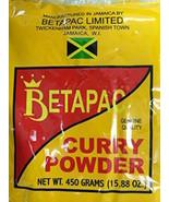 Authentic Jamaican BetaPac Curry Powder / Polvo de curry jamaicano autén... - $15.35+