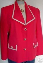 Hot Pink & White Rail Western Halter Show Hobby Clothes Jacket 12 Showmanship - $55.00