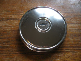 Chevy Hubcap Oem Automotive Display Project Shop Office Dorm Or ???  - $18.95