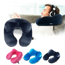 Travel Pillow for Airplane Inflatable Neck Pillow Travel U-Shape - $10.99
