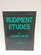 Rudiment Etudes by Joel Rothman Snare Drum Technique Exercises Book - $29.65