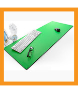 "green extra large desk mouse pad 37 x 15"" neopr... - $50.50"