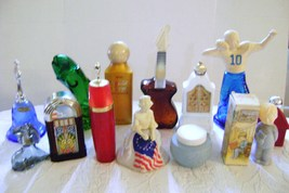 Vintage Avon Collectible Bottles (13) with Betsy Ross 1976 Bottle with c... - $20.00