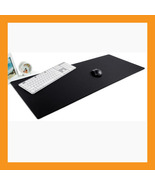 "extra large desk mouse pad 37 x 15"" neoprene 6mm padded computer vivid b... - $50.50"