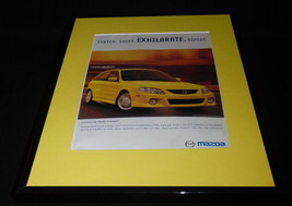 2001 Mazda Protege 5 Framed 11x14 ORIGINAL Vintage Advertisement - $32.36