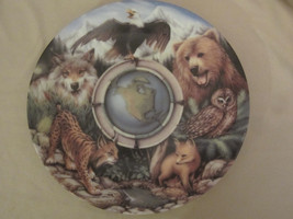 EARTH'S DAY 25th ANNIVERSARY North America collector plate TODD CLAUSNITZER - $8.99