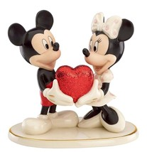 Lenox Disney Sweethearts Forever Mickey Mouse & Minnie Figurine NEW - $59.90