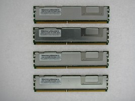 16GB (4X4GB) FOR HP PROLIANT DL360 G5 DL380 G5 DL580 G5 ML150 G3