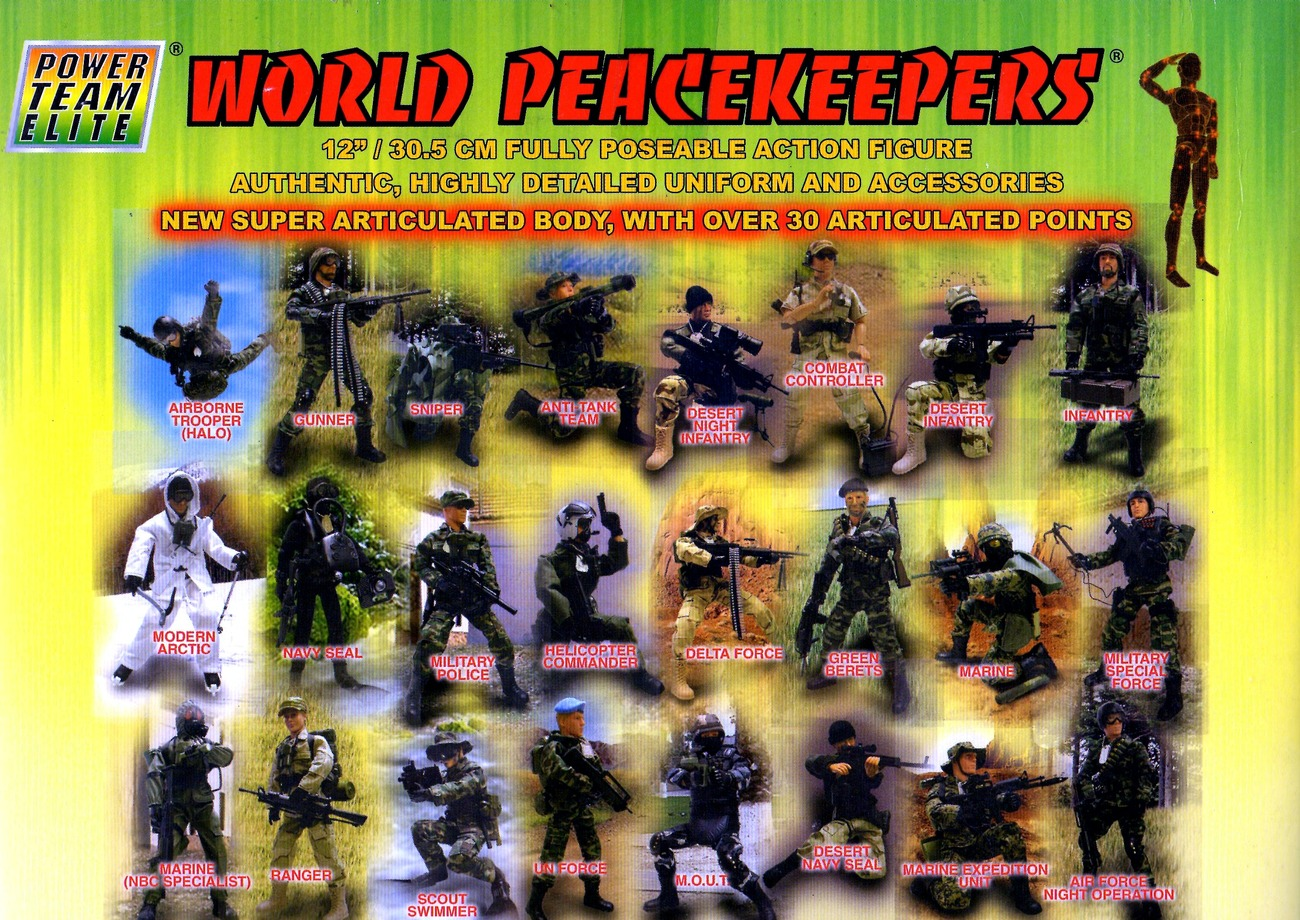 Power team Elite World Peacekeepers Airborne and 12 ...