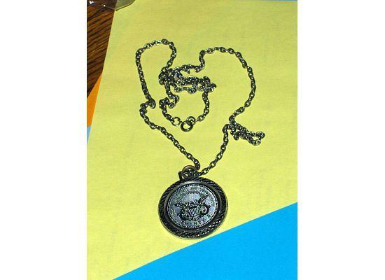 Vintage1776 Twenty Dollar  Faux Coin Medallion Necklace