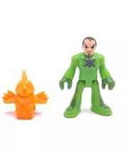 Fisher-Price Imaginext Castle Green Knight Figure w/ Helmet From Dragon ... - $4.36