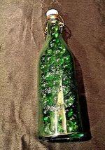 Marbles in Welz and Zerweck Brewers Bottle AA18-1364 Vintage Brooklyn, N.Y. image 3
