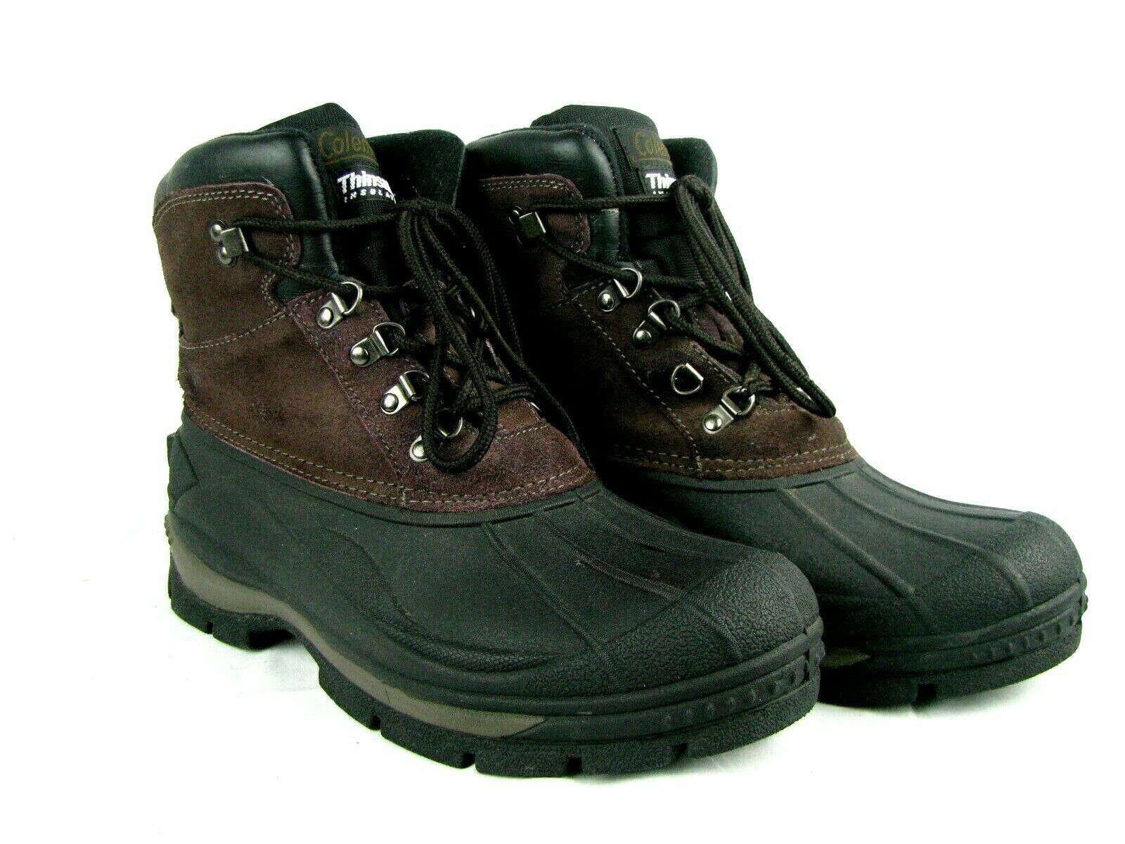 Primary image for Coleman Mens Arctic Leather Winter Boots Size 11 Thinsulate Insulation