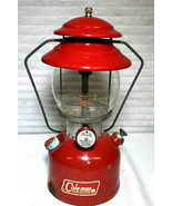 "Coleman Model 200A Cherry Red Lantern ""Sunshine Of The Night"" - $459.88"