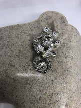 Vintage Long 1960s Clear Austrian Crystal Rhinestone Chandelier Clip On ... - $51.48