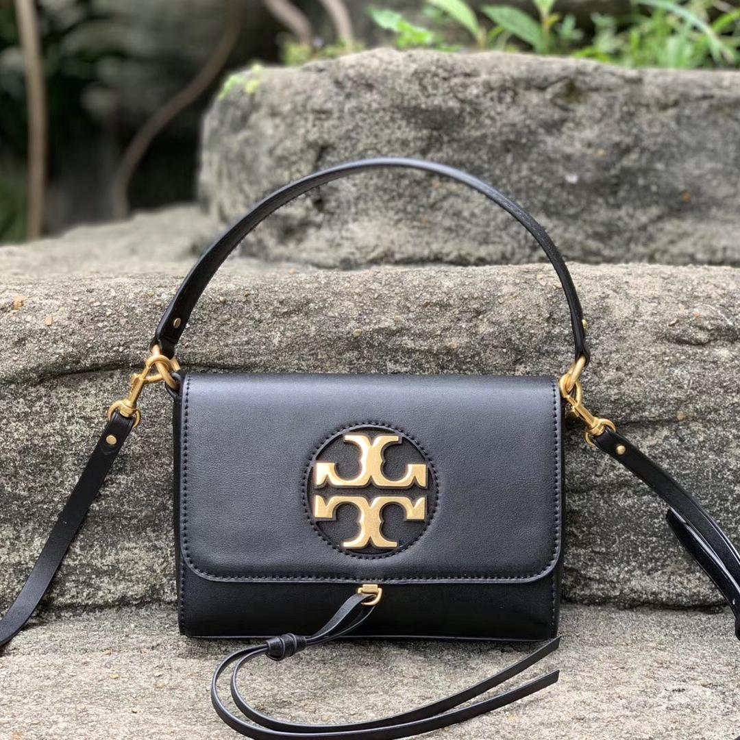 Tory Burch Miller Metal-Logo Mini Shoulder Bag