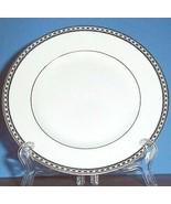 """Wedgwood Ulander Black Salad Dessert Plate 8"""" Made in England New - $29.90"""