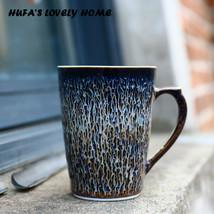 Eastern Style Handmade Galaxy Star Glaze Coffee Mug Ceramic - $33.95