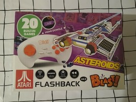 Atari Flashback Blast! Asteroids Plug N Play 20 Video Games Wireless HDMI - $8.42