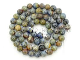 Natural Sunset Dumortierite Jasper Gemstone Round Spacer Beads 16'' 4mm ... - $6.96
