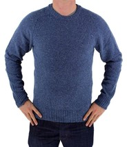NEW NWT LEVI'S MEN'S PREMIUM CLASSIC WOOL SWEATER MSRP:$98.00 BLUE 644590001