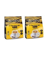 Chek Hup 3 In 1 Ipoh White Coffee Mix Instant Premix KING 12'S X 10 Pack... - $136.90