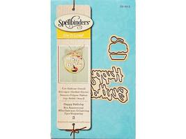Spellbinders D-Lites Happy Birthday Die Set #S1-023