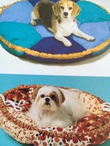 Kwik Sew Sewing Patterns 4020 Pet Dog Bed Two Sizes New - $14.85