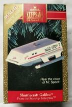 Star Trek Ornament: Shuttlecraft Galileo - $46.75