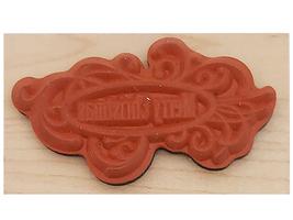 Inkadinkado Merry Christmas Wood Mounted Rubber Stamp #707 image 2