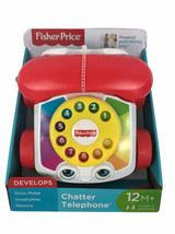 Fisher-Price Chatter Talking Phone Telephone Baby Toy Fun Developing Toy... - $13.85
