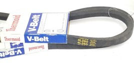 LOT OF 2 NEW THERMOID 4L260 V-BELTS 1/2'' X 26'' image 2