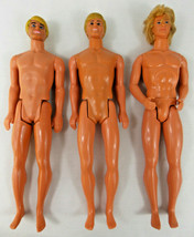 Vintage 1968 Ken Dolls Lot of 3 - L@@K !!! - $15.00