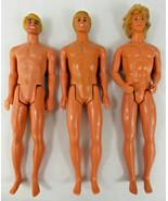 Vintage 1968 Ken Dolls Lot of 3 - L@@K !!! - $15.00