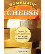 Homemade Cheese : Recipes for 50 Cheeses from Artisan Cheesemakers : New... - $14.50