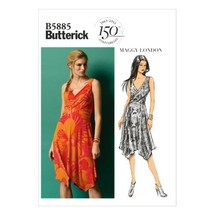Butterick Patterns B5885 Misses' Dress Sewing Templates, Size A5 - $11.27